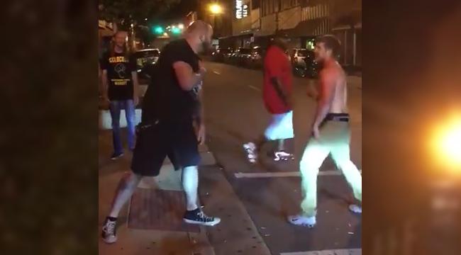 john hernholm streetfight knockout bouncer