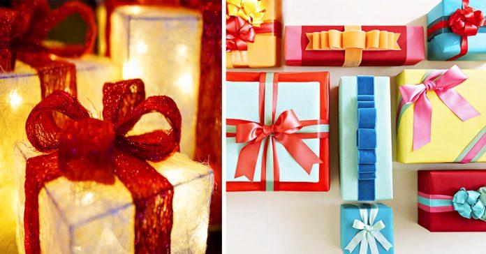 te ensenamos como hacer lazos de todo tipo para adornar tus regalos de navidad banner