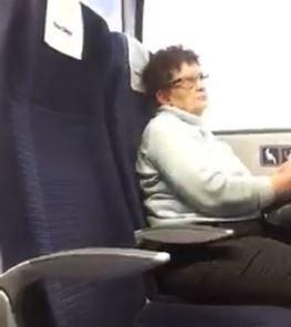 Estos pasajeros furiosos echaron a esta madre con su bebé de un tren de primera clase