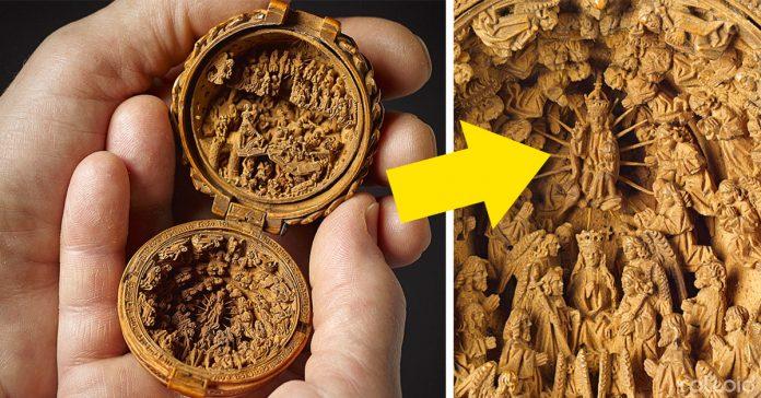 los cientificos usan rayos x para descubrir la magia de estas piezas de madera talladas en miniatura banner