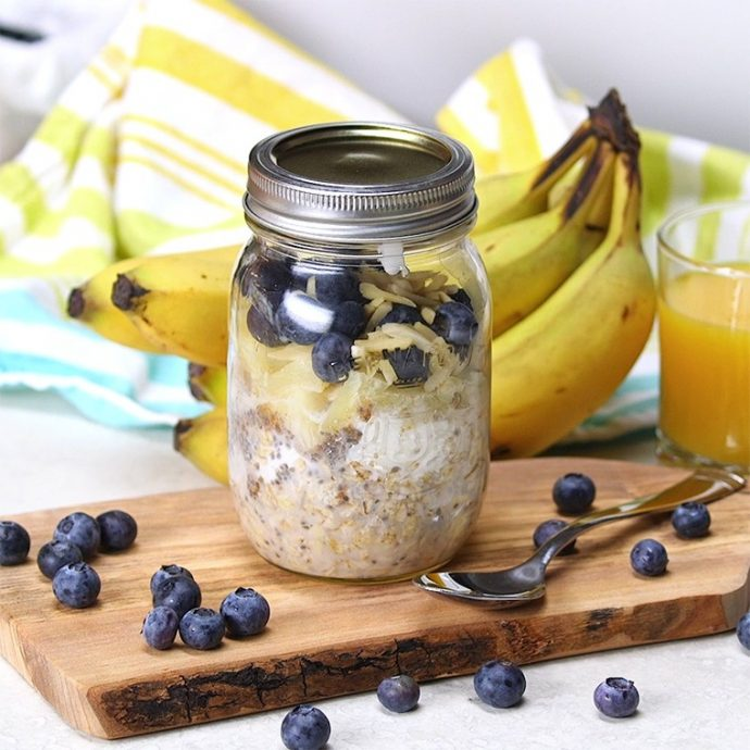 ¿Cómo preparar un desayuno a base de copos de avena?