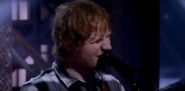 """Ed Sheeran interpreta """"Ain't No Sunshine"""", y deja a todo el mundo con la piel de gallina"""