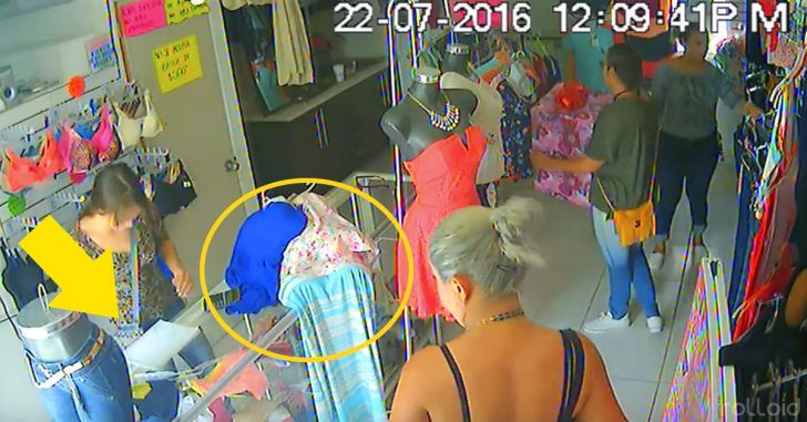 Tres mujeres roban en una tienda con el infalible método de la caja que cada vez se está volviendo más común