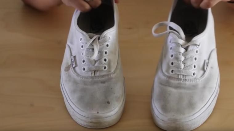 Cómo limpiar las zapatillas deportivas para que vuelvan a estar blancas