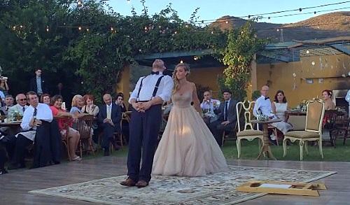 Se casa con un mago y realizan un baile de bodas que nunca olvidarán