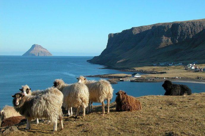 Lítla Dímun es una pequeña isla a la que solo podrás acceder con cuerdas.