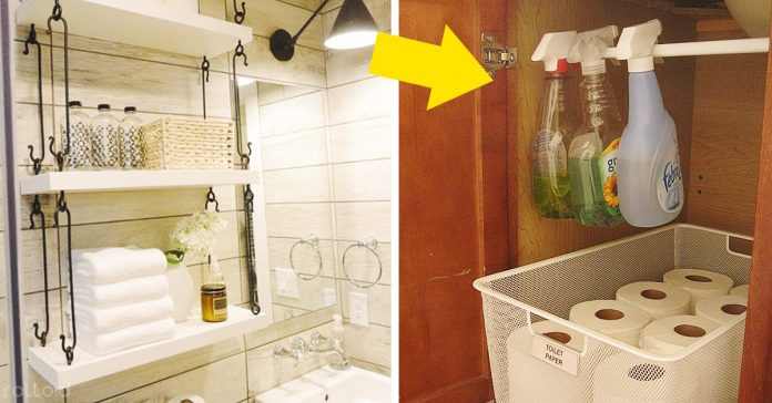 trucos ahorrar espacio cuarto de bano banner