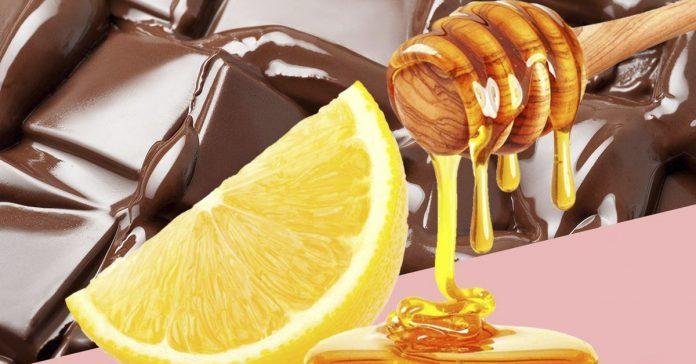 chocolate remedio tos miel limon banner
