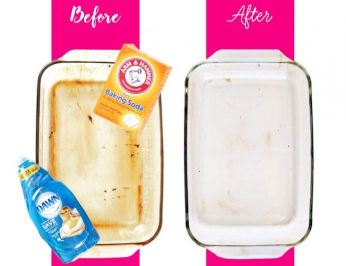 El método definitivo para eliminar la suciedad de las bandejas del horno