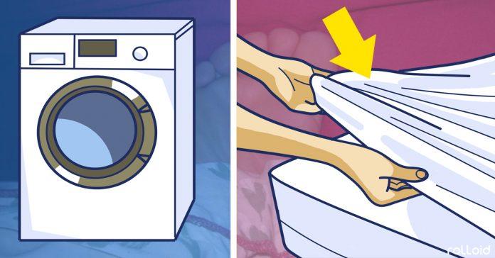 lavar sabanas eliminar bacterias