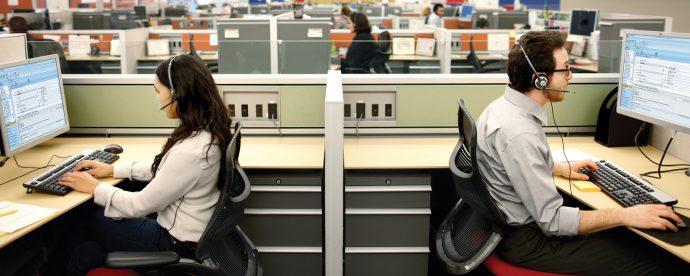 Lo que en realidad hacen los teleoperadores de un call center