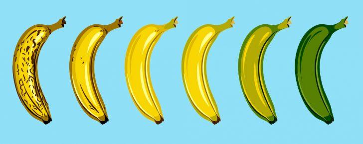 ¿Cuándo es el mejor momento para comerte un plátano?