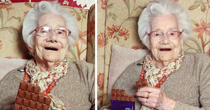 secreto anciana mujer 104 anos comer chocolate beneficios banner