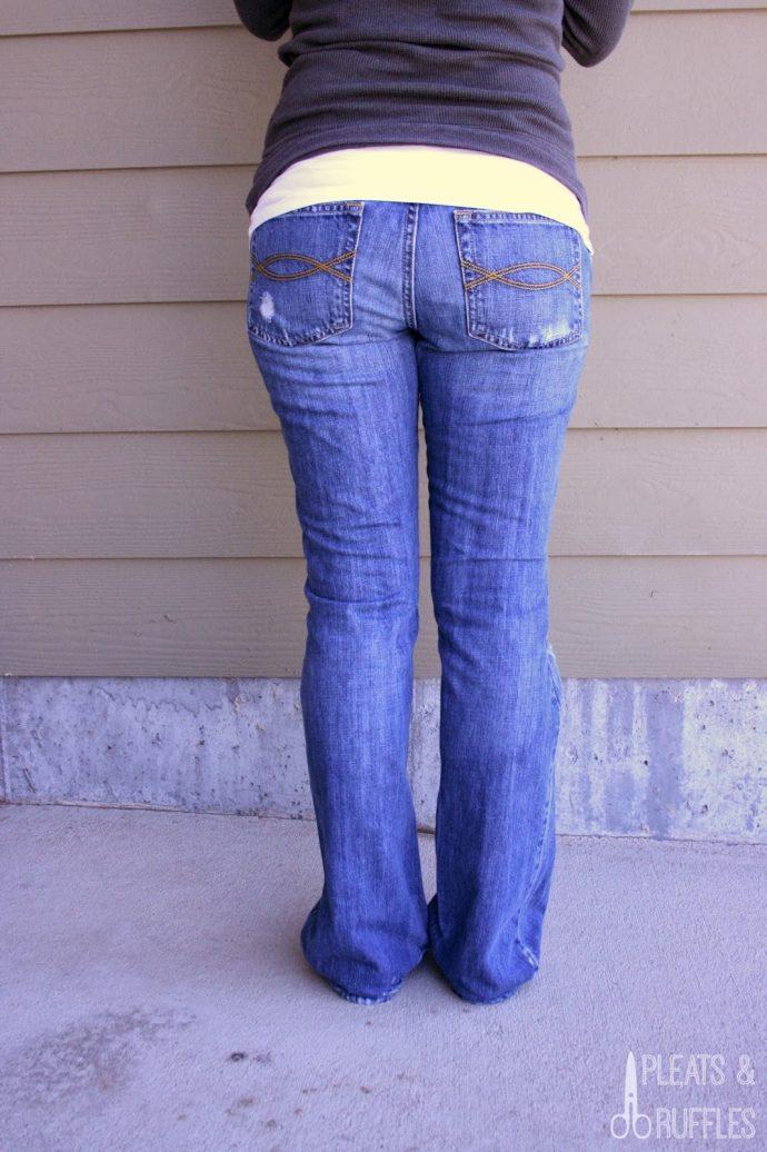 4 Pasos para dejar tus pantalones viejos como nuevos y no tener que tirarlos