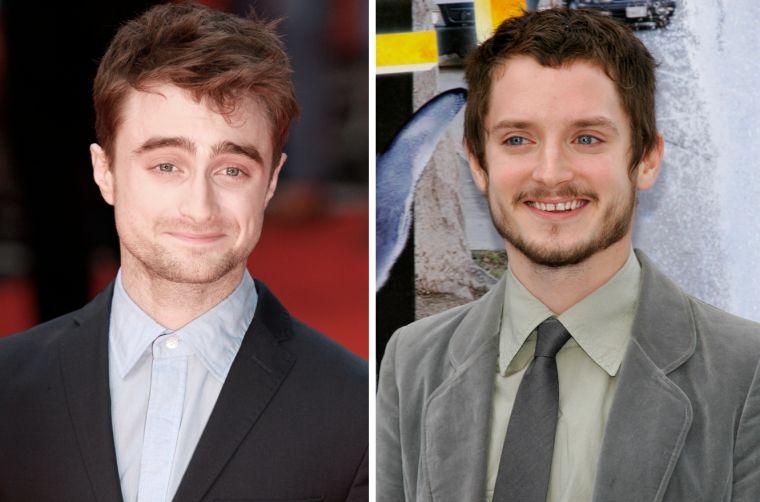 La pequeña y sutil diferencia que separa a Daniel Radcliffe y Elijah Wood resulta inquietante