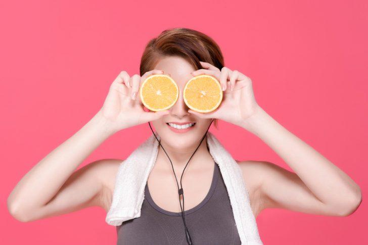 ojos naranjas