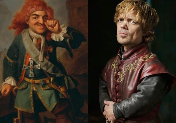 10 personajes de juego de tronos inspirados en la vida real 138138