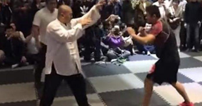 Se extiende por las redes el vídeo del maestro de Tai Chi que desafió con su técnica a un luchador de la MMA