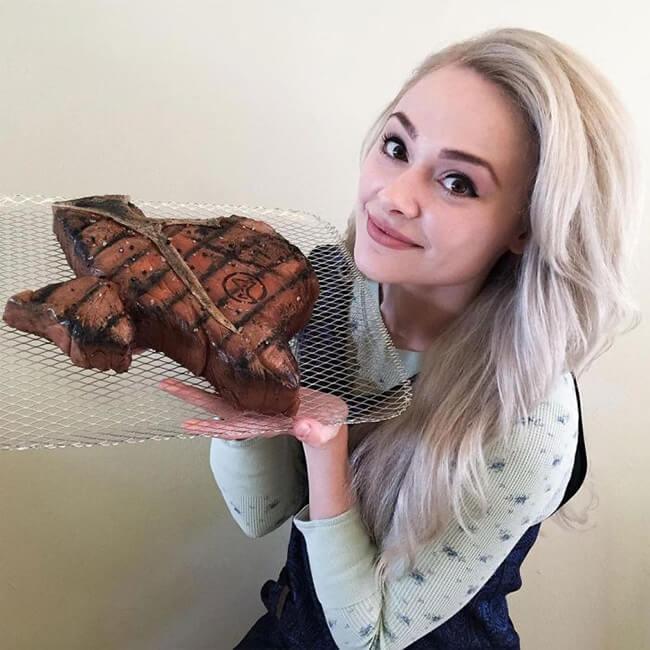 Natalie Sideserf hace tartas increíblemente realistas