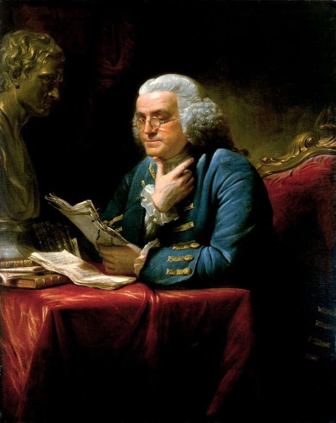 Si quieres gustarle a alguien, el efecto Benjamin Franklin puede ayudarte