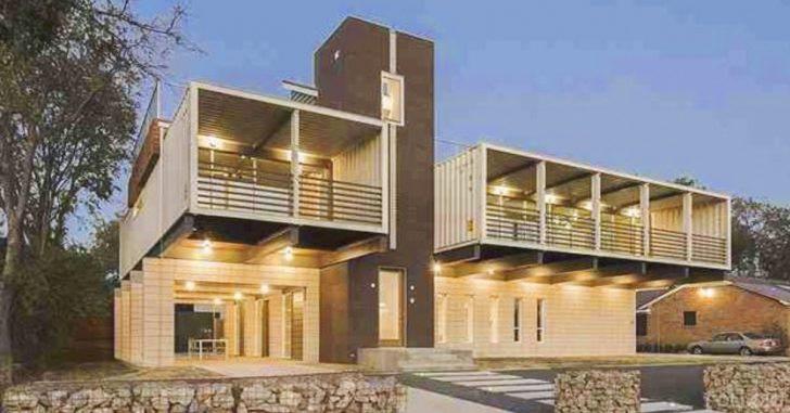 Una casa de lujo hecha con tan solo 14 contenedores
