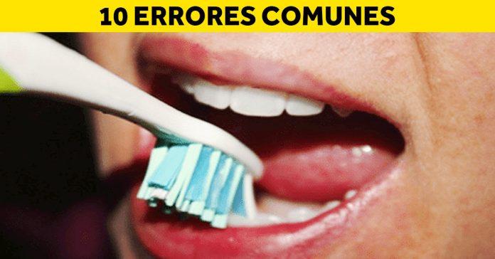 10 errores cepillarte lavarte dientes banner