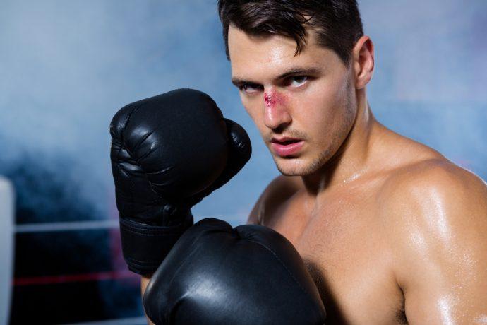 boxeador nariz