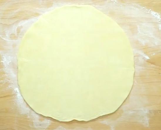 como preparar pizza de pepperoni con forma de rosa 153238