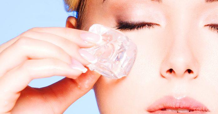 el hielo tiene increibles beneficios sobre nuestra piel banner