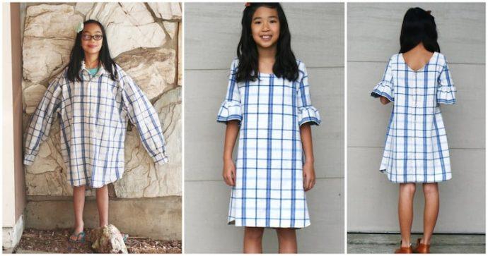 10 Trucos perfectos para transformar la ropa vieja que una madre está usando para vestir a sus hijos y a ella misma