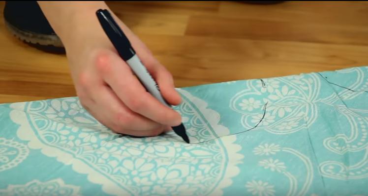 10 Pasos para transformar un trozo de tela en un increíble vestido cuando no tienes ni idea de coser