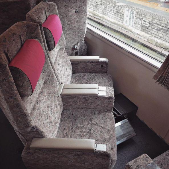15 increíbles inventos que siguen existiendo solo en Japón silla tren