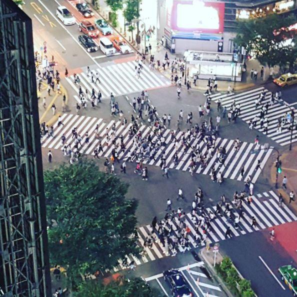 15 increíbles inventos que siguen existiendo solo en Japón paso peatones diagonal