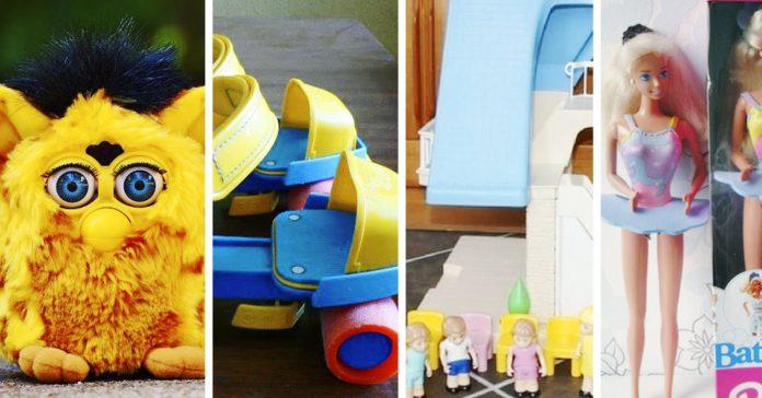 juguetes infancia de los 90 banner