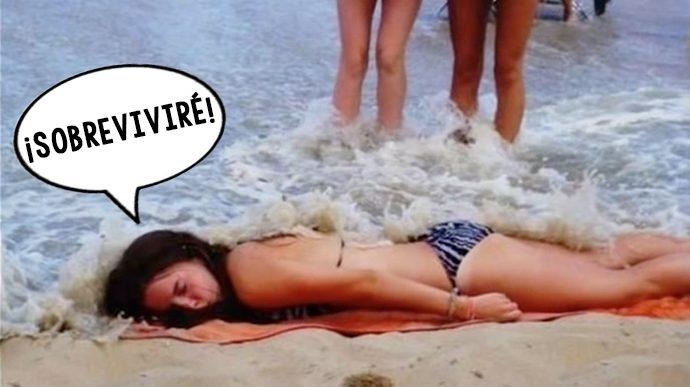 las 10 situaciones mas ridiculas que te pueden ocurrir en la playa 155198
