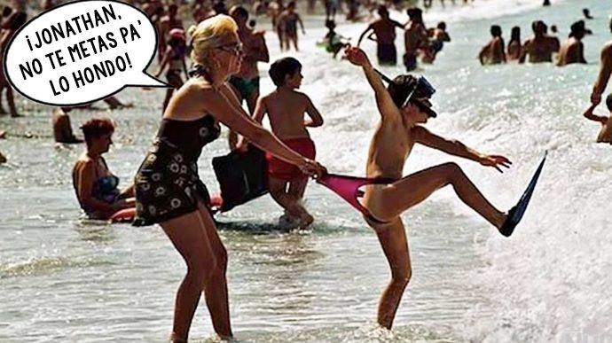 las 10 situaciones mas ridiculas que te pueden ocurrir en la playa 155222