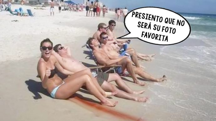 las 10 situaciones mas ridiculas que te pueden ocurrir en la playa 155269