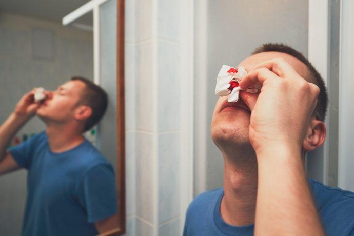 sangrar nariz