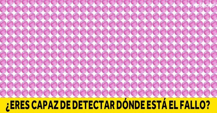 si eres capaz de detectar los fallos de estas imagenes en 10 segundos tiene una vista unica banner