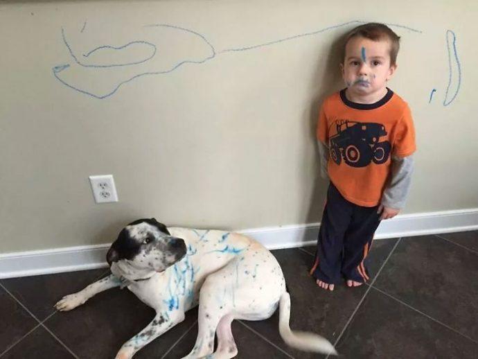 10 fotos que muestran lo que pasa cuando dejas a tus hijos solos 1501659777