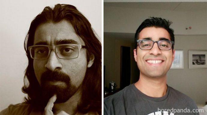 15 Personas que sufrieron un cambio radical de Look con un simple corte de pelo