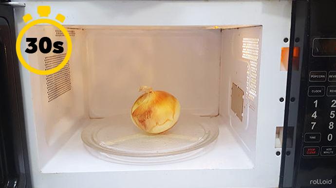 15 cosas que puede hacer tu microondas para que tu vida sea mas facil cebolla