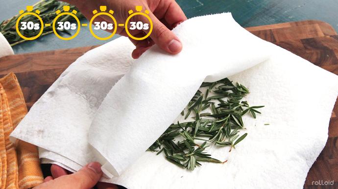 15 cosas que puede hacer tu microondas para que tu vida sea mas facil hierba seca