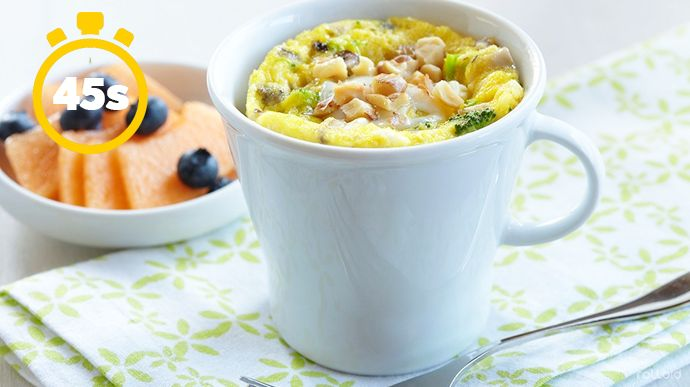 15 cosas que puede hacer tu microondas para que tu vida sea mas facil huevos revueltos