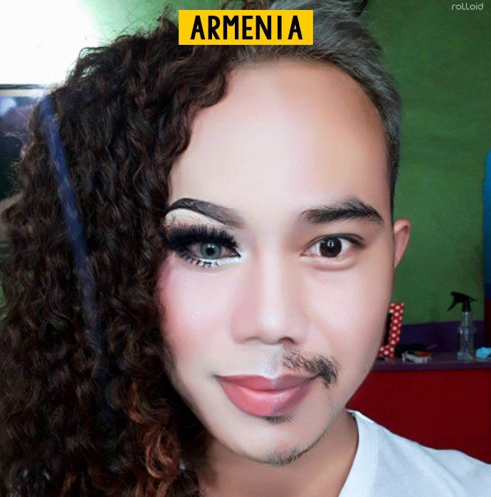 20 Imágenes del antes y después que muestran el poder radical del maquillaje