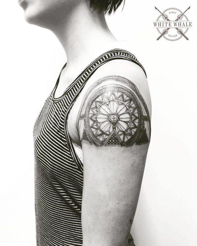 20 Tatuajes sobre arquitectura que te harán querer hacerte uno