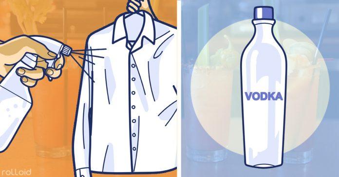 7 cosas que puedes limpiar solo con vodka banner