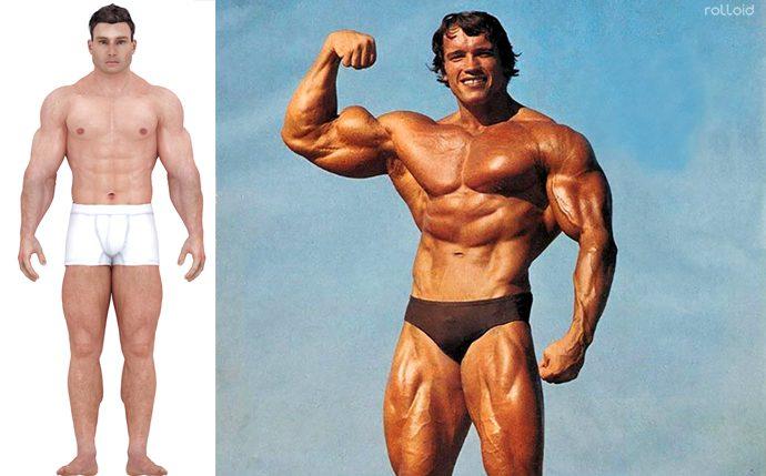 asi ha cambiado el cuerpo ideal de los hombres a lo largo del tiempo 04