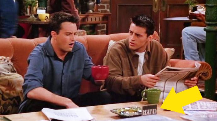 12 Errores garrafales de los que nadie se percató en la mítica Friends