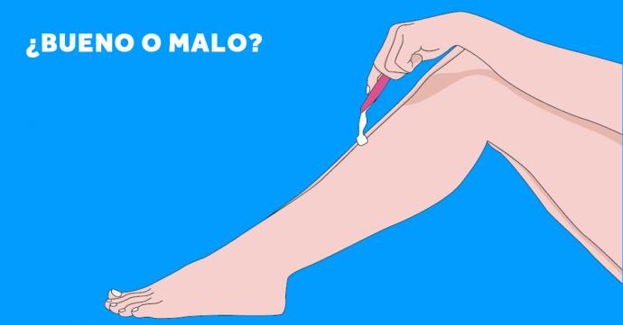 18 Cosas que deberías saber la próxima vez que te vayas a depilar con una cuchilla
